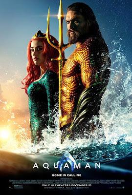 Poster Aquaman 2018 English HD 720p