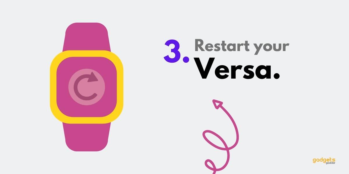 reboot your fitbit versa