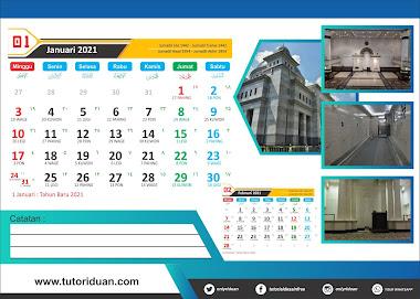 Desain Kalender Duduk 2021 Dengan CorelDraw