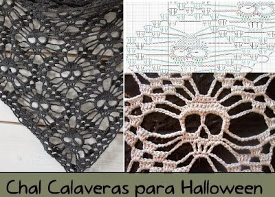 Chal Calaveras para Halloween Tutorial