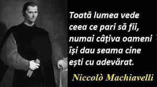 Maxima zilei: 3 mai - Niccolò Machiavelli
