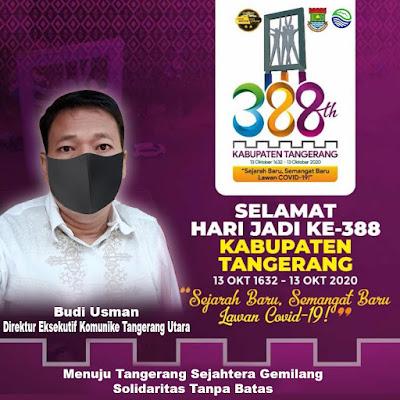 Sejarah 388 Tahun Kabupaten Tangerang dan Refleksi kinerja Zaki - Mad Romli