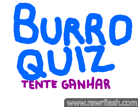 Jogos online de quiz: BURRO QUIZ!