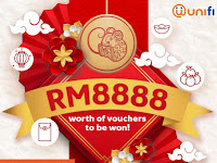 Celebrate this Chinese New Year with prizes worth up to RM8,888