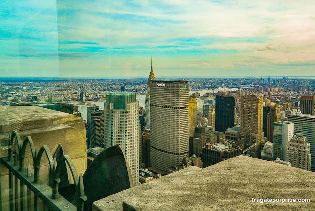 Chrisler Building visto do Top of the Rock, Nova York