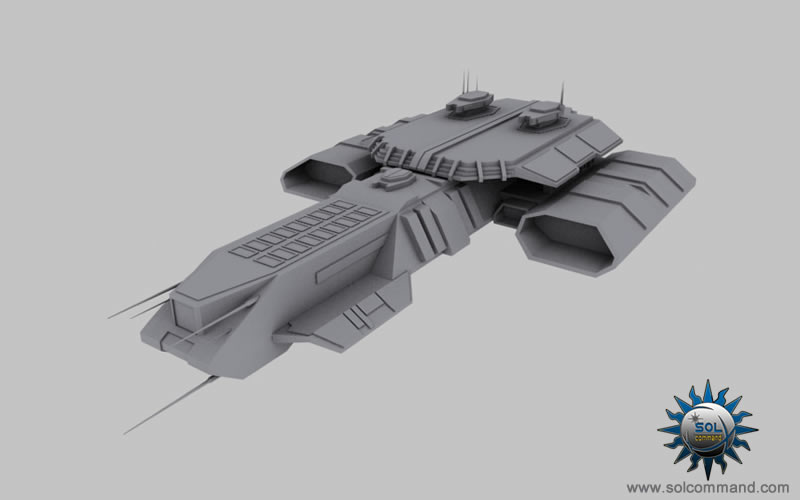 stargate sg-1 tv series show custom spaceship space cruiser battle combat solcommand