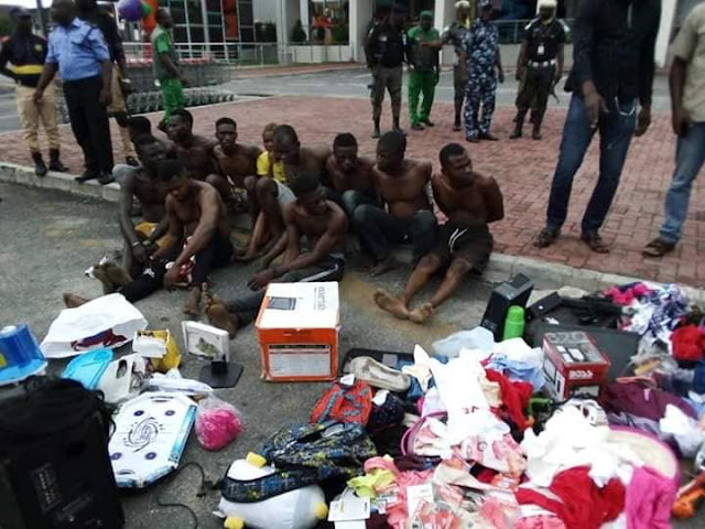 Xenophobia: Shoprite Looters paraded, stolen goods recovered