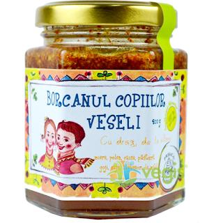 Cumpara de aici Borcanul copiilor veseli  -produse apicole