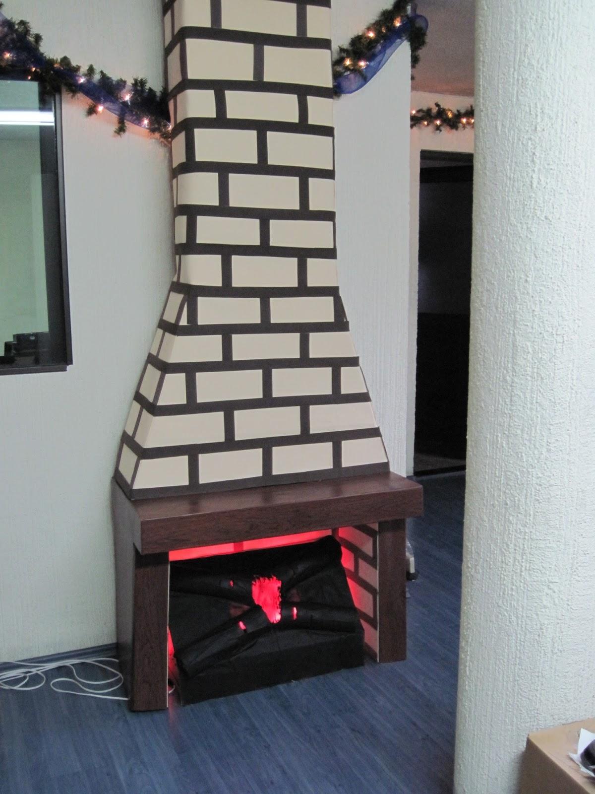 Proyectos ocios y ms Como Hacer una Chimenea decorativa Homemade
