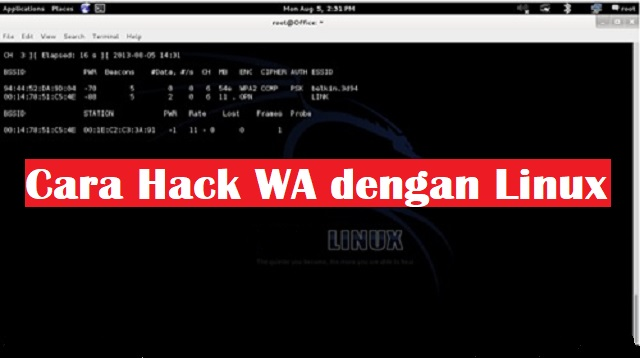 Cara Hack WA dengan Linux