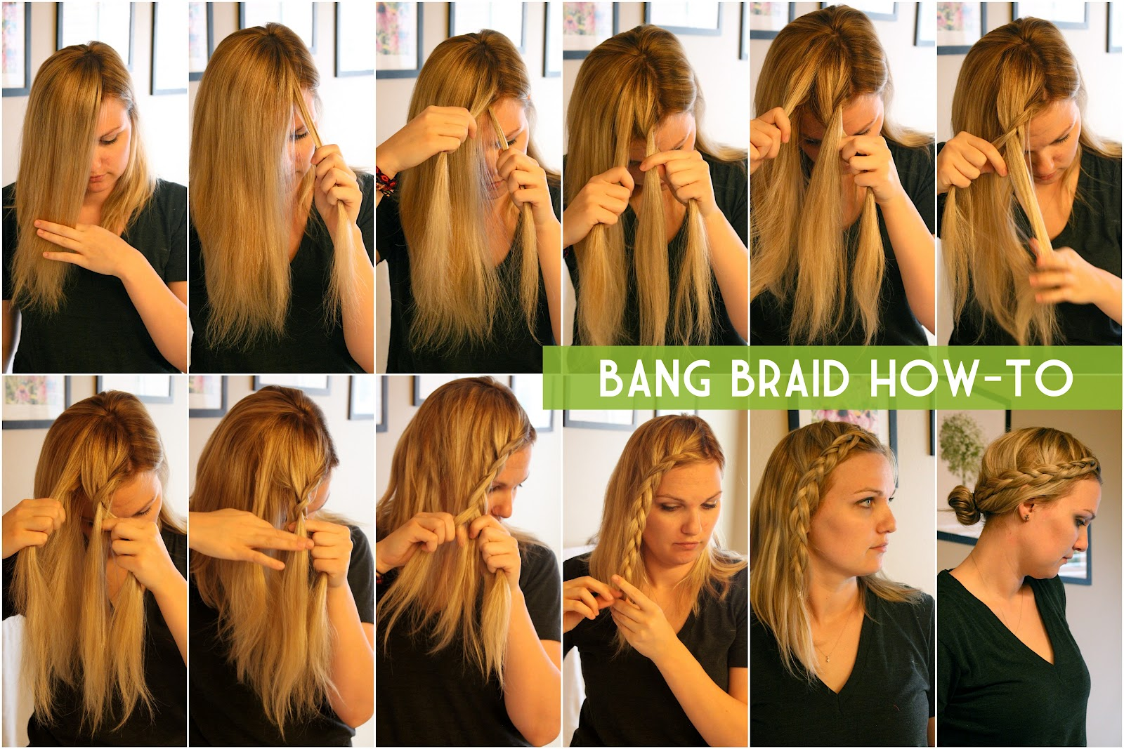 RUFFLING FEATHERS: bang braid how-to