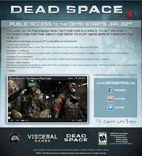 deadspace 3 demo