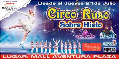 Circo Ruso sobre hielo en Arequipa