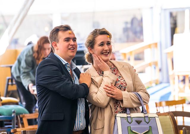 Humperdinck: Hansel & Gretel - Jack Lee and Hilary Cronin - British Youth Opera at Opera Holland Park (Photo Tristram Kenton)