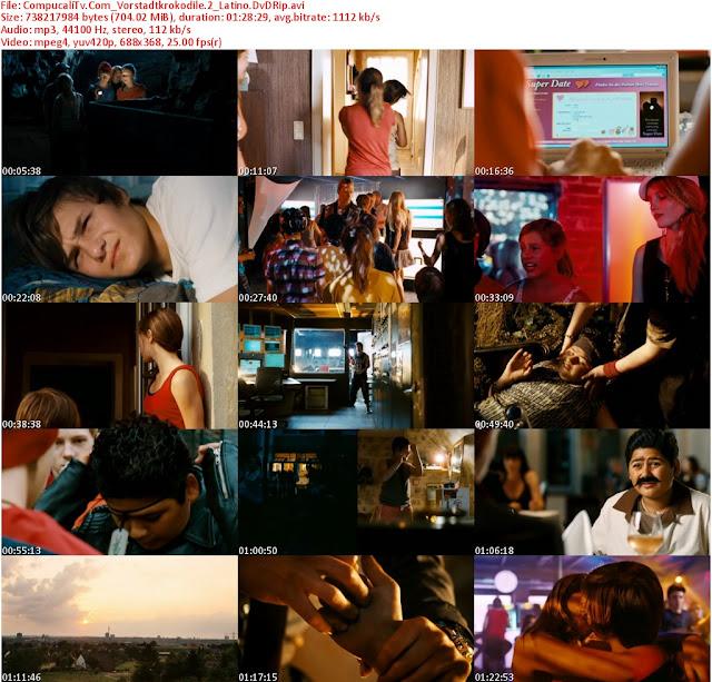 Vorstadtkrokodile 2 [2010] [DVDRip] [Español Latino] [Ver Online] 1 link