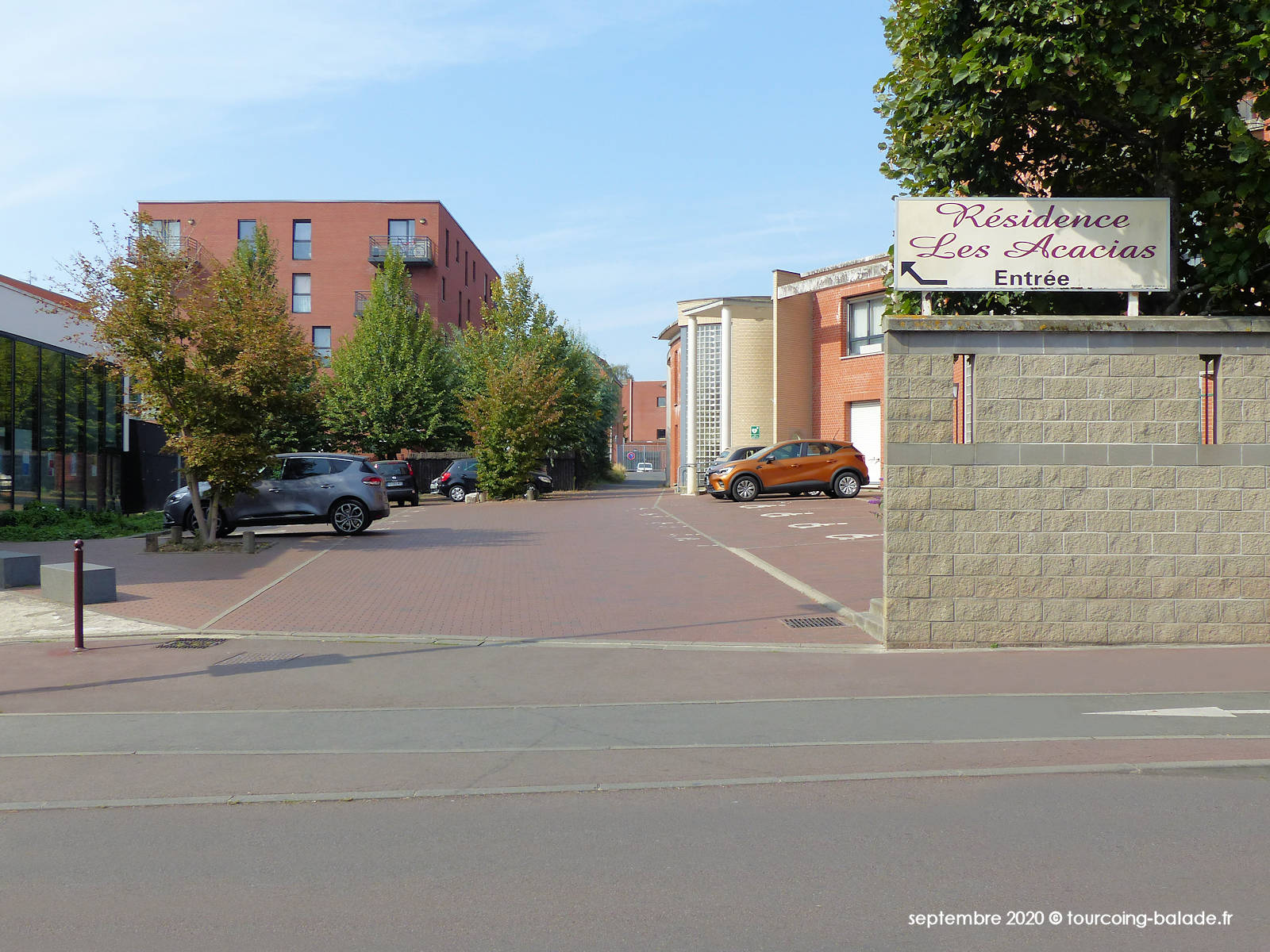 Rue Parmentier, Tourcoing 2020.