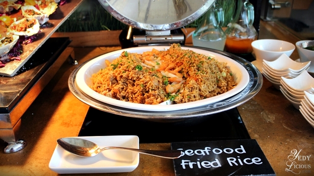 Seafood Fried Rice Brunch Buffet at Spectrum Fairmont Hotel Makati Manila PH
