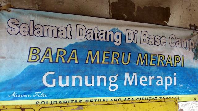 Basecamp Bara Meru, Merapi