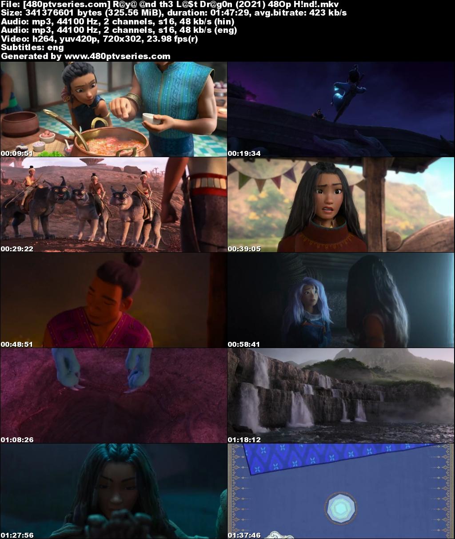Raya and the Last Dragon (2021) Hindi Dual Audio 300MB Bluray 480p Free Watch Online Full Movie Download Worldfree4u 9xmovies