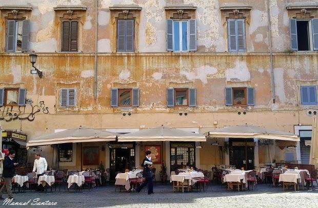 Roma, scorci caratteristici a Trastevere