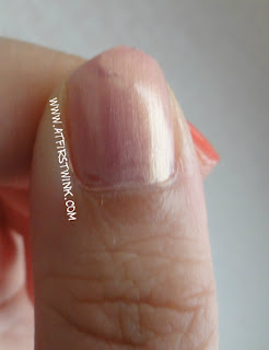 nail swatch of the Peripera PK009