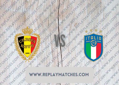 Belgium vs Italy -Highlights 02 July 2021
