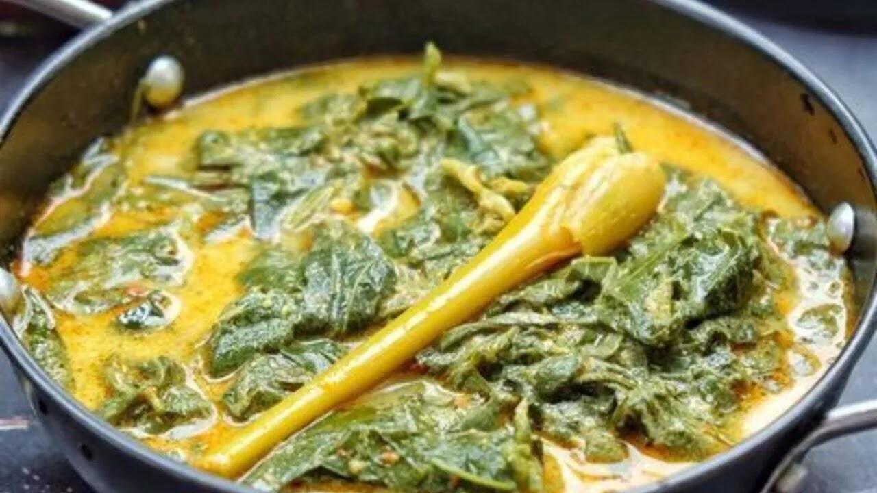 Resep Sayur Daun Singkong Padang