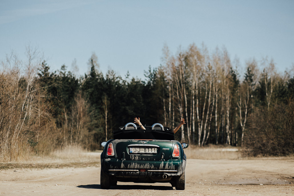 kāzu auto mini cooper