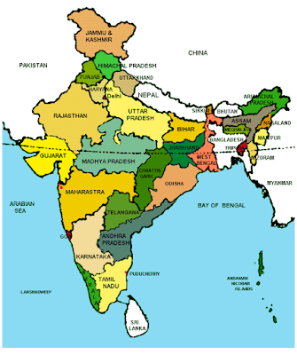 CBSE Class 9 - Geography - India: Size and Location (Very Short Questions and Answers)(#cbsenotes)(#eduvictors)