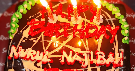 Happy birthday Nurul Najibah