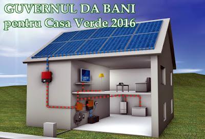 Casa Verde Clasica si Plus 2016 documente necesare