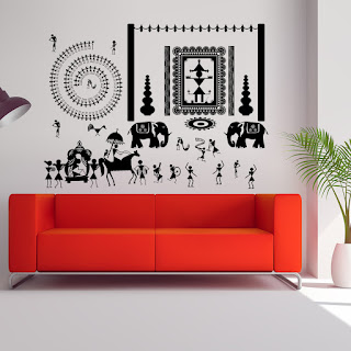 https://www.kcwalldecals.com/ethnic-indian/643-ritualistic-warli-tribal-wall-decal.html?search_query=Warli&results=19