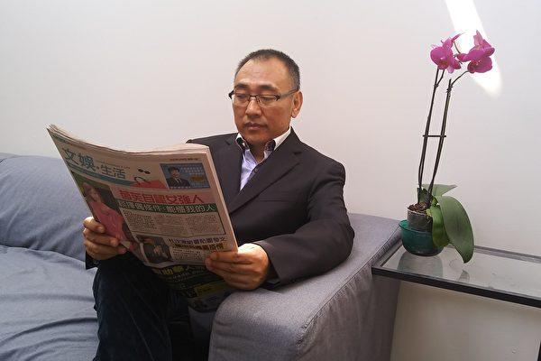 从中国逃亡加拿大的北京著名中医师赵中元接受大纪元专访,讲述11年来的人生起伏及心路历程。(伊铃/大纪元)