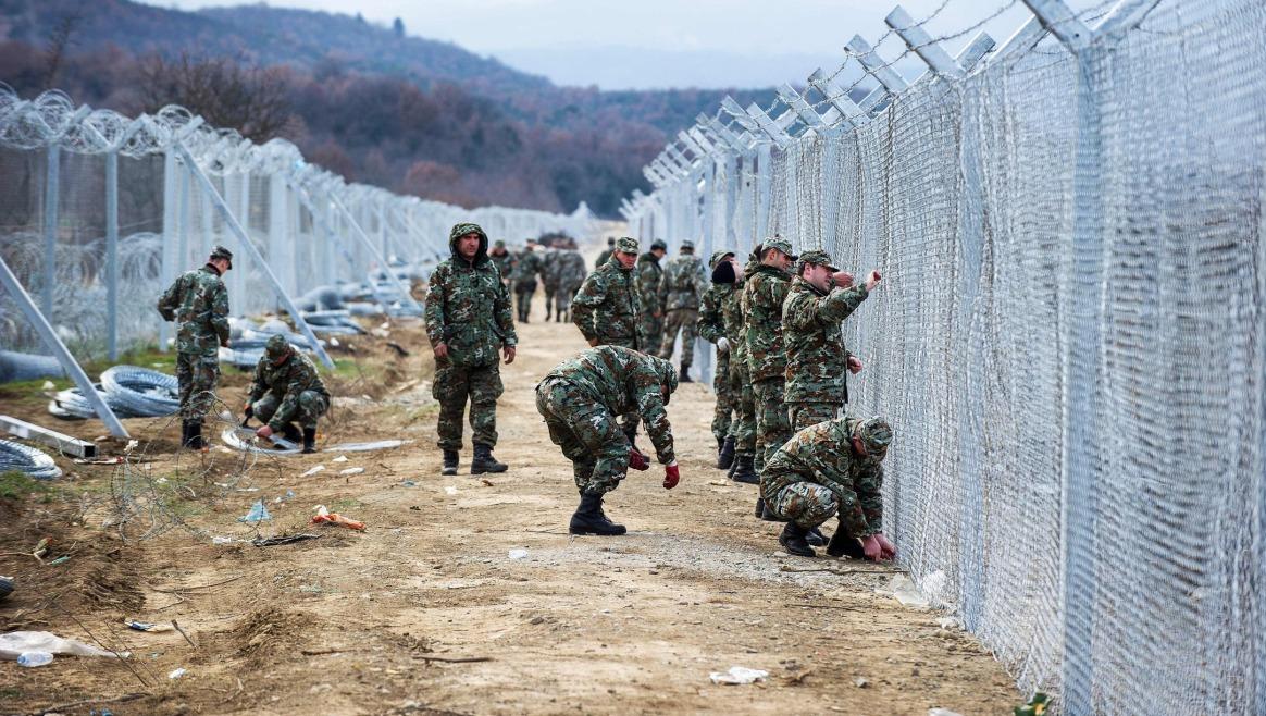 Grenze Mazedonien Griechenland