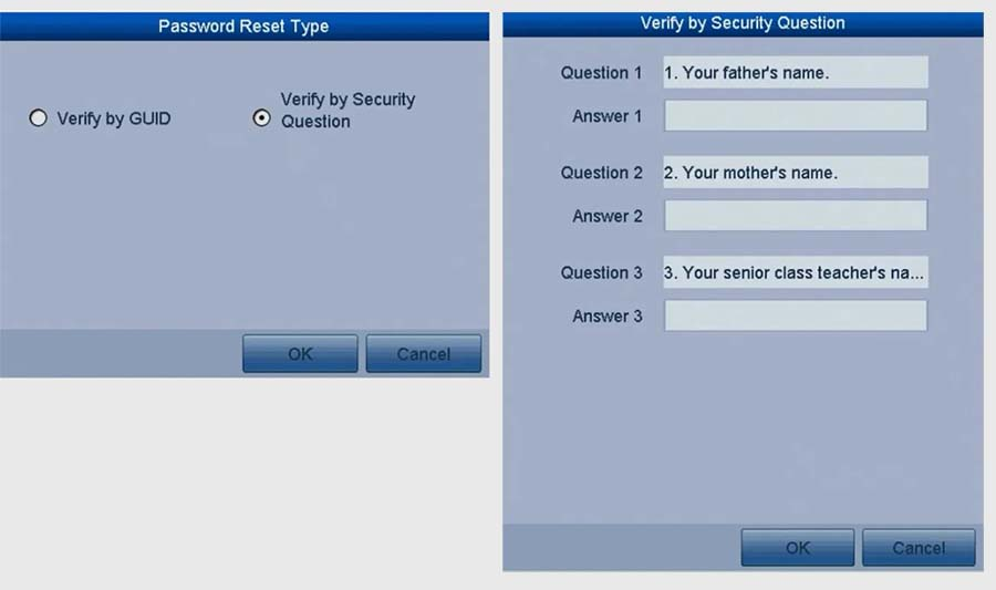 ANNKE Default Password