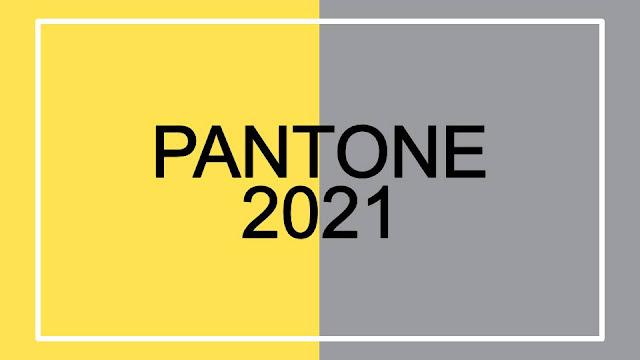 Pantone escolhe cores Amarelo e Cinza para 2021