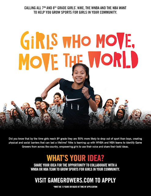 The Brooklyn Nets and Nike Team Up to Encourage Teen Girls to Play Sports - dellahsjubilation.com