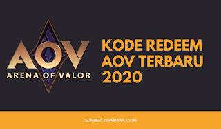 Kode Redeem AOV Terbaru 2020