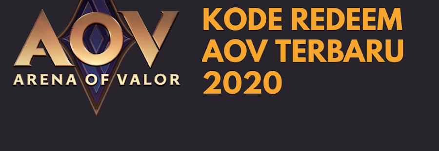 Kode Redeem AOV Terbaru 2020 Klaim Hari Ini!