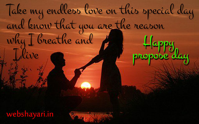 beautiful lines for propose day
