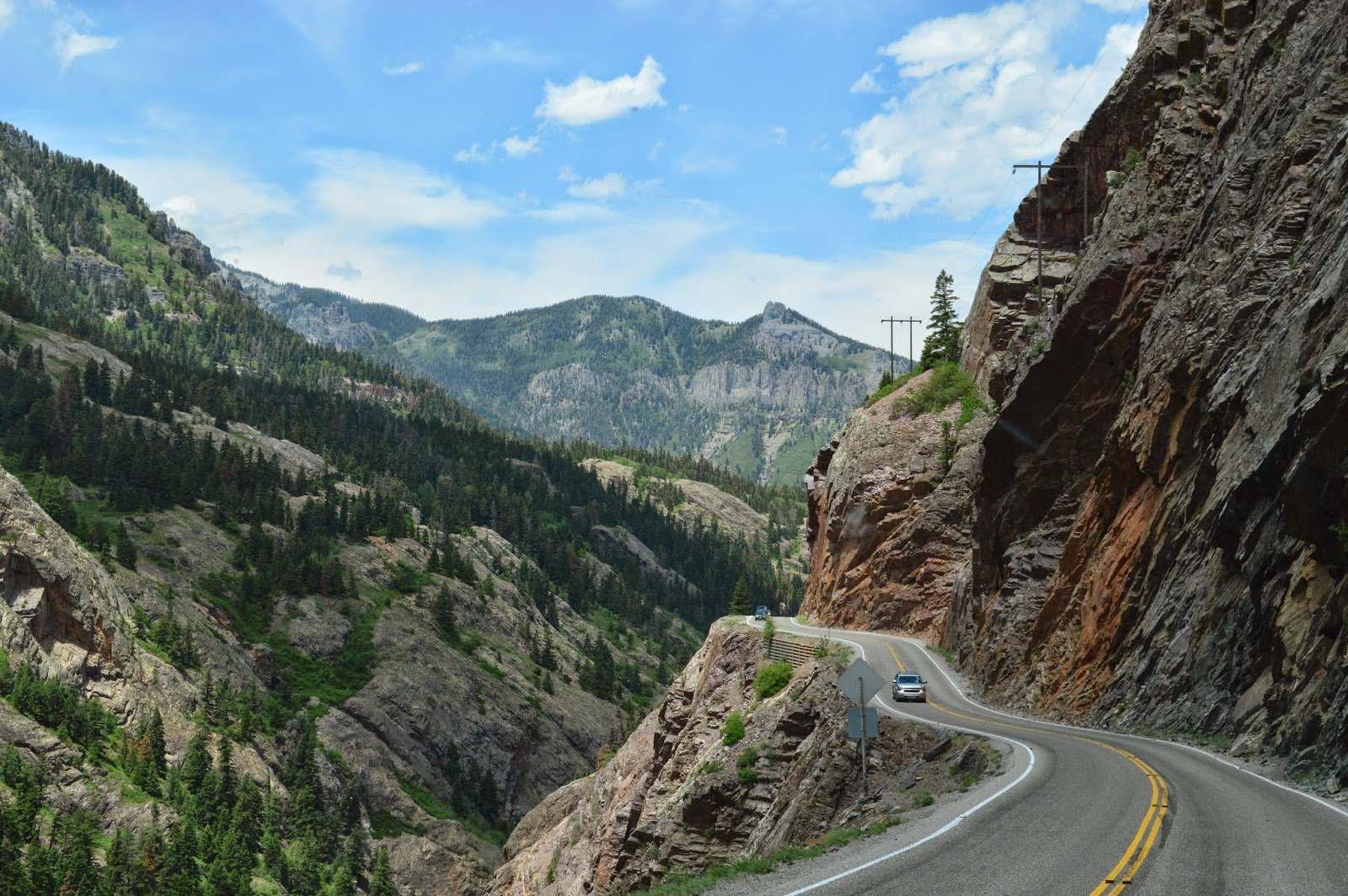 Us Highway 550 In Colorado Is Known As The Quot Million Dollar