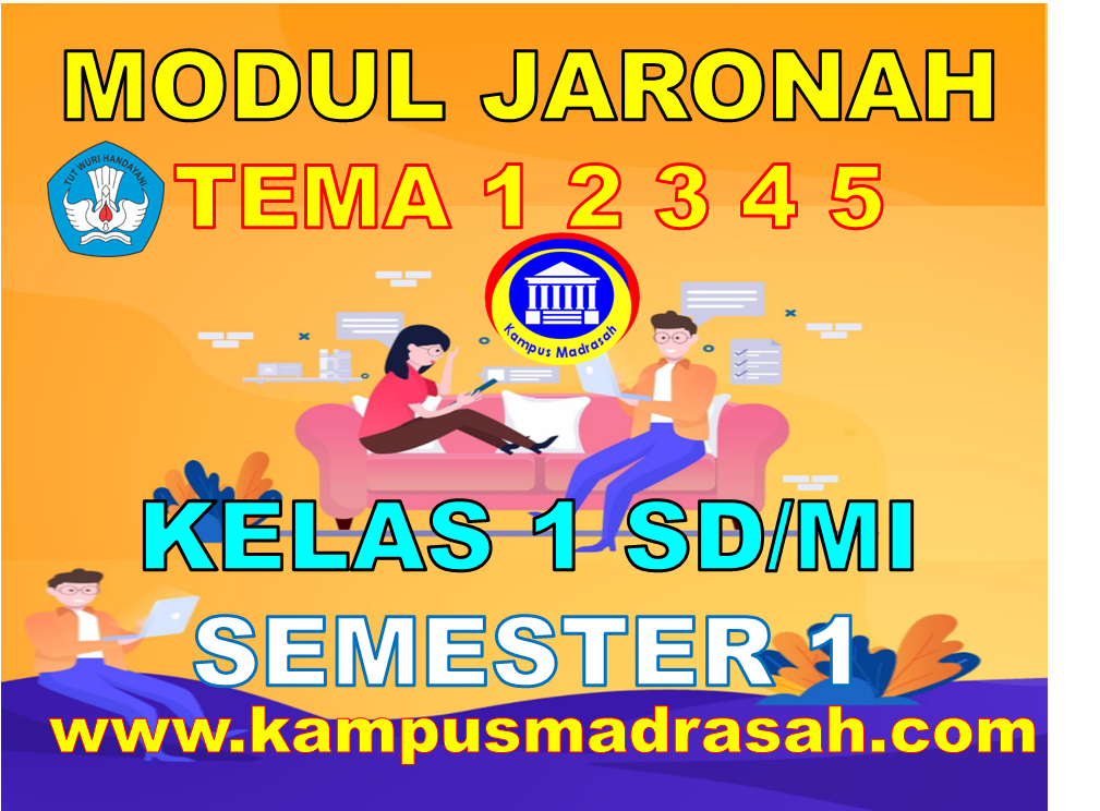 Modul BDR/PJJ Kelas 1 SD/MI