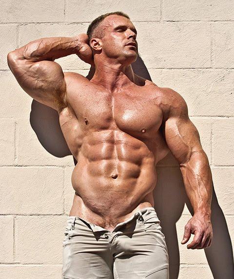Naked muscular men