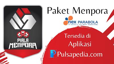 Cara Beli Paket Menpora Nex Parabola