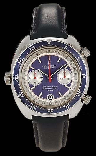 The first Pan Europ Chronograph
