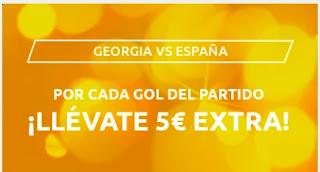 Mondobets promo Georgia vs España 28-3-2021