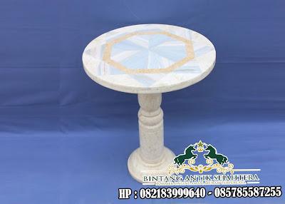 Meja Cafe Marmer | Meja Motif Marmer | Meja Cafe Marmer Import
