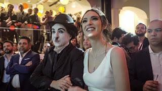 Atração Chaplin de Humor e Circo com Isabelle Drummond embaixadora do evento inauguração do Spaces Cinelândia.