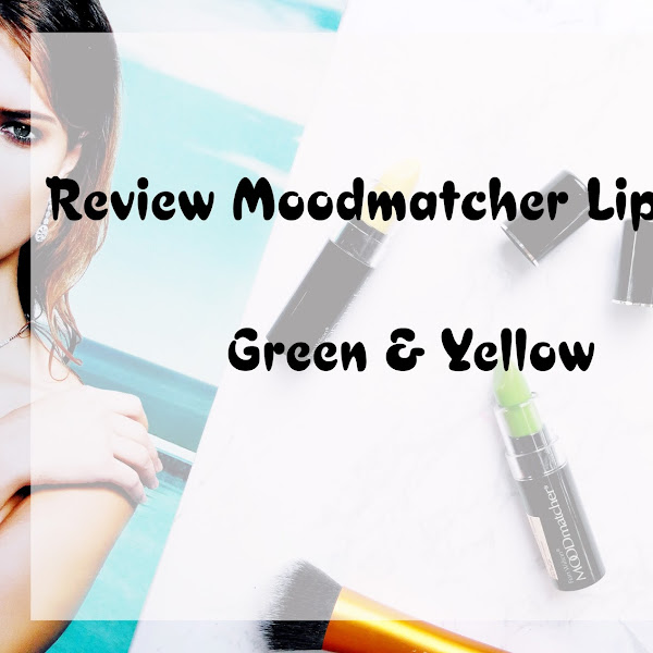 Review MOODmatcher Lipstick Green & Yellow
