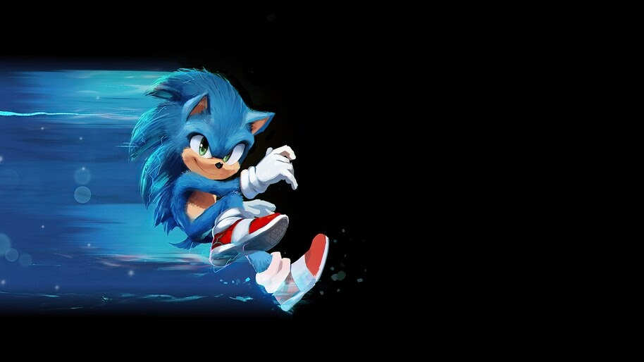 Sonic the Hedgehog, 2020, Art, 4K, #5.1451